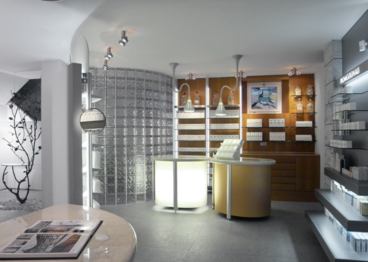 Pharmacy design showrooms