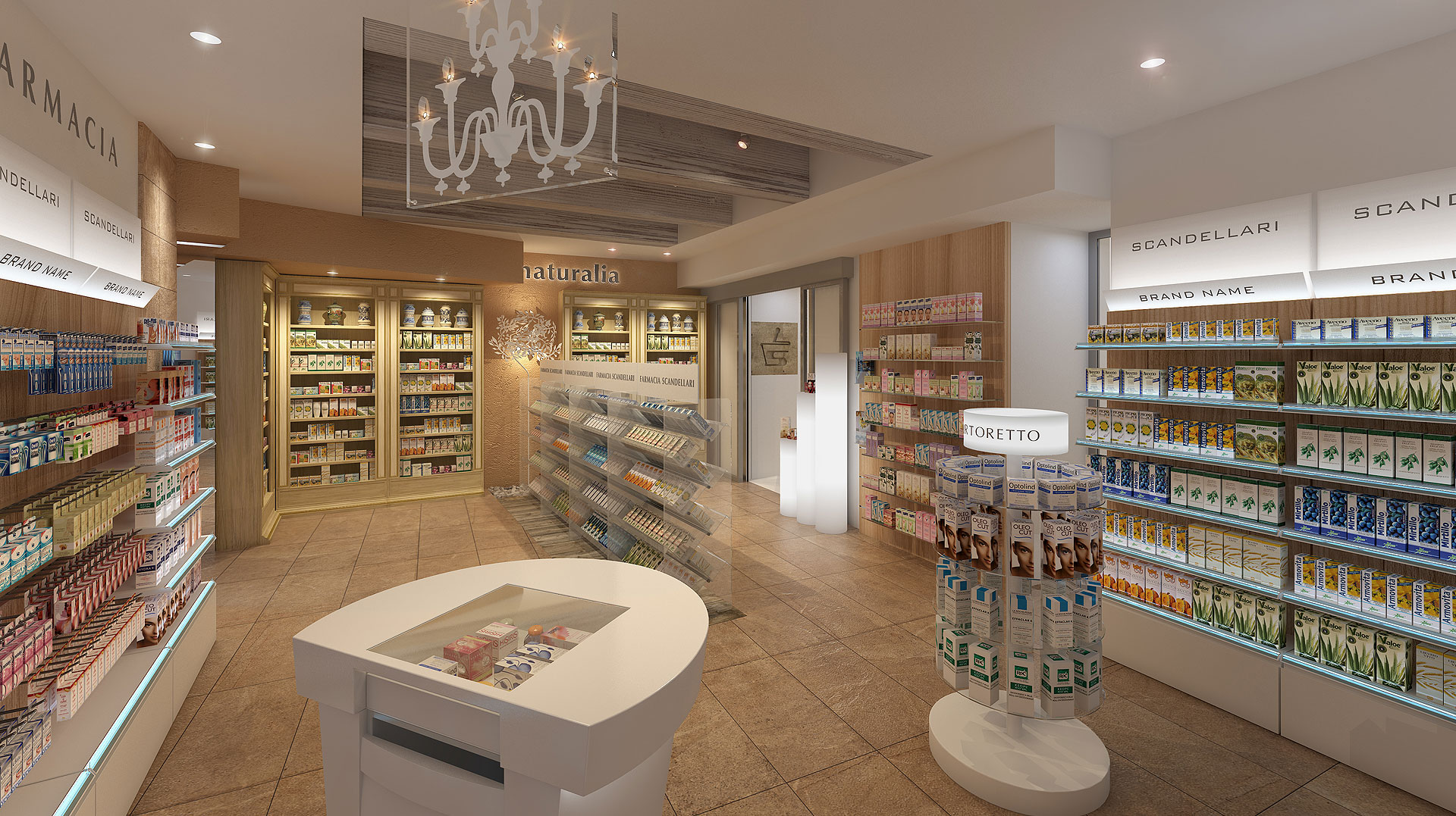 ITALY'S No.1 PHARMACY DESIGN