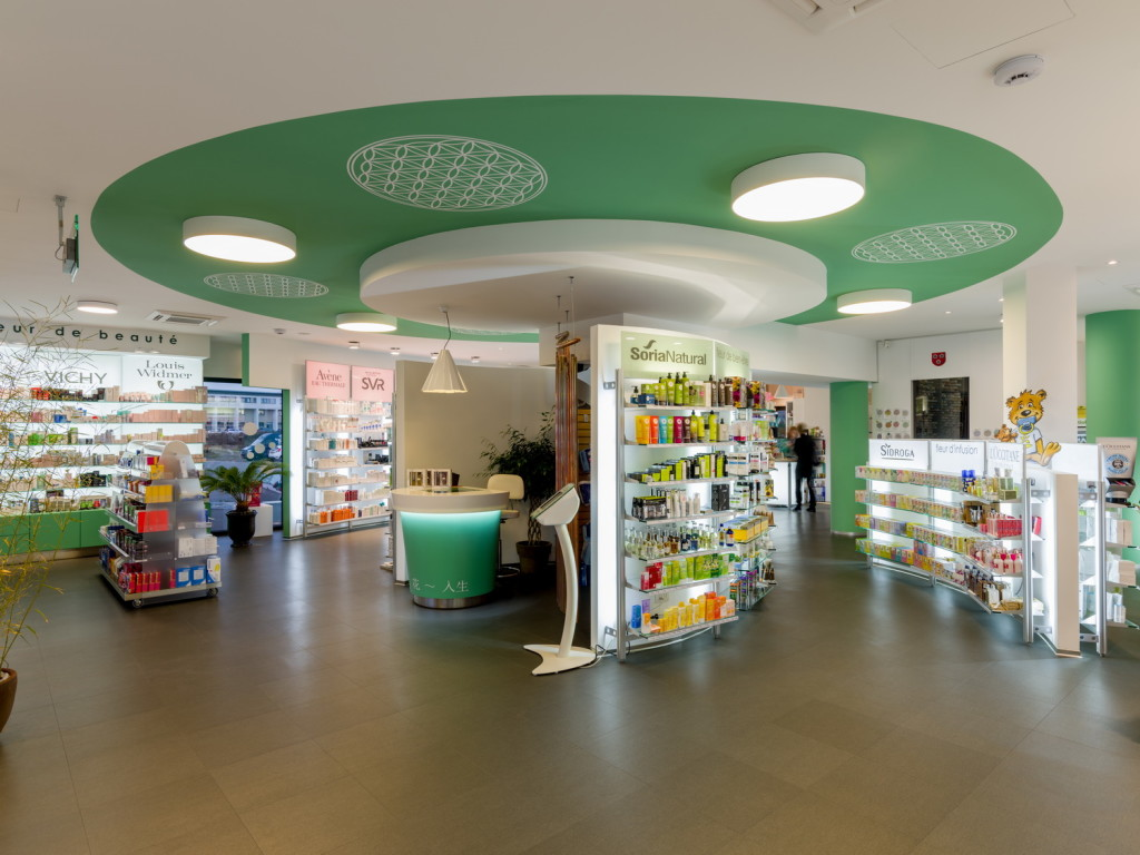 pharmacy design GCC
