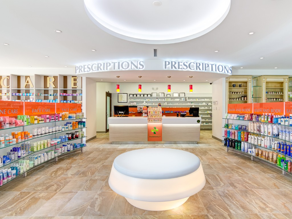 Pharmacy design usa for Design company usa