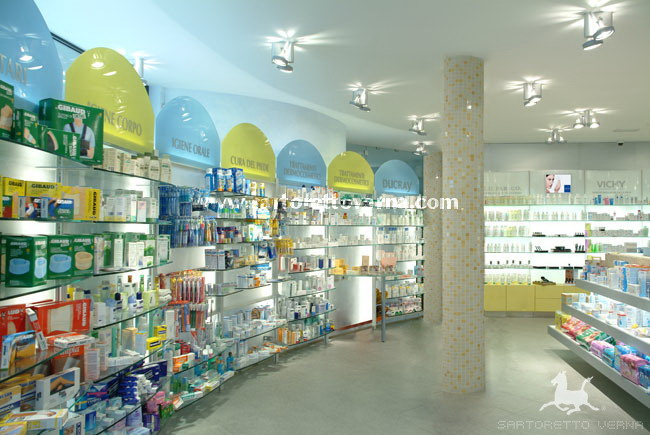 farmacia illuminazione Lighting Design