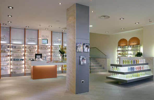Pharmacy Design Ideas modern drug stores design ideas with interior lighting Palleschi Pharmacy Design In Pharmacy Interior Design In Frosinone The Pharmacy Of Dr Maria
