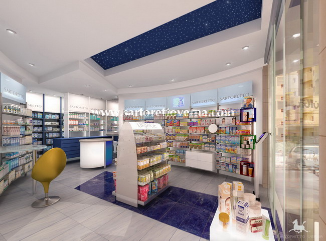 pharmacy design emirates 004 The first Sartoretto Verna pharmacy in The Emirates opens in Kuwait