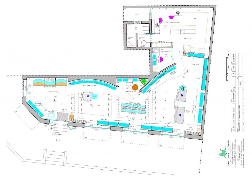 El Medina progetto Pharmacy El Medina