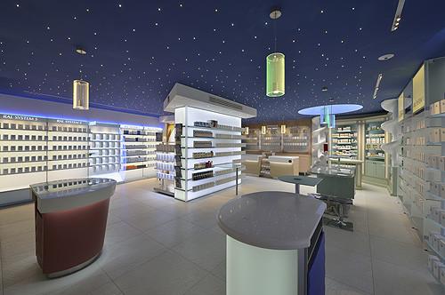 Pharmacy design showrooms