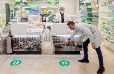 LEA®️ pharmacy counter desk
