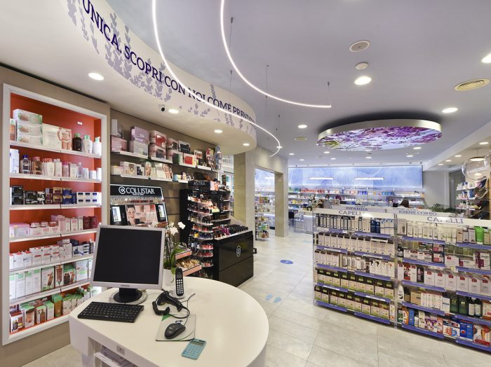 pharmacy design Rome