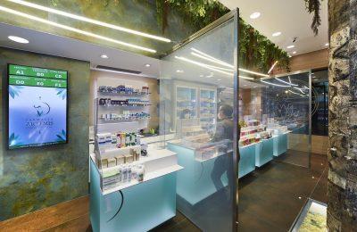 a-kio pharmacy counter desk