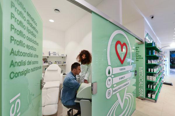 Pharmacy consultation rooms design