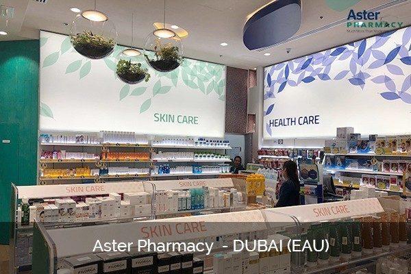 Pharmacy design Dubai