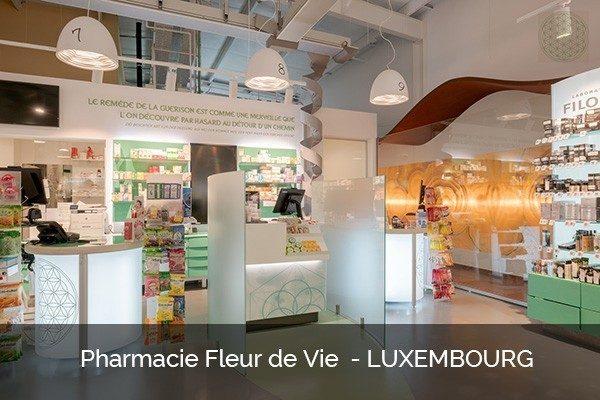 Pharmacy design Luxembourg